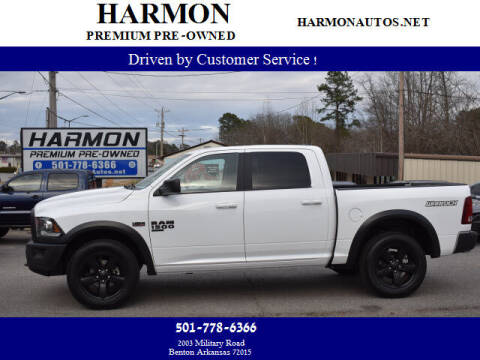 2019 RAM Ram Pickup 1500 Classic for sale at Harmon Premium Pre-Owned in Benton AR