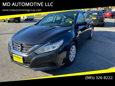2016 Nissan Altima for sale at MD AUTOMOTIVE LLC in Slidell LA