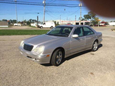 2002 Mercedes-Benz E-Class for sale at All State Auto Sales, INC in Kentwood MI