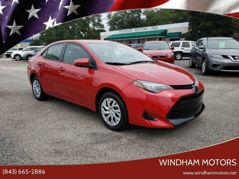 2018 Toyota Corolla for sale at Windham Motors in Florence SC