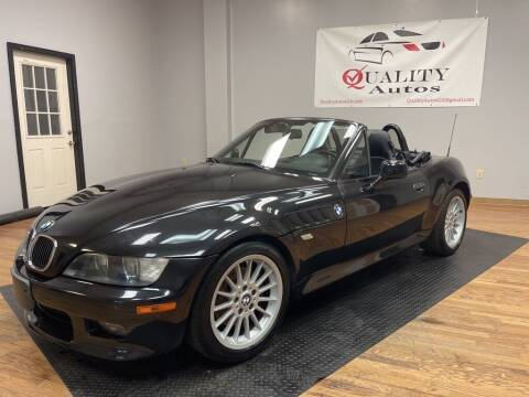 2002 BMW Z3 for sale at Quality Autos in Marietta GA
