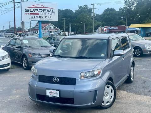 2009 Scion xB for sale at Supreme Auto Sales in Chesapeake VA