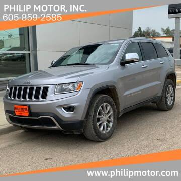 2014 Jeep Grand Cherokee for sale at Philip Motor Inc in Philip SD