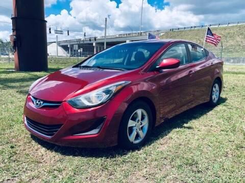 2014 Hyundai Elantra for sale at Venmotors LLC in Hollywood FL
