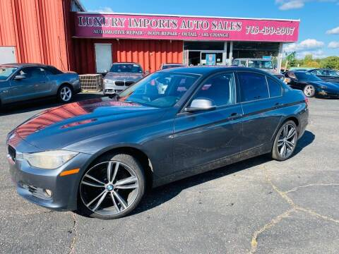 2013 BMW 3 Series for sale at LUXURY IMPORTS AUTO SALES INC in North Branch MN