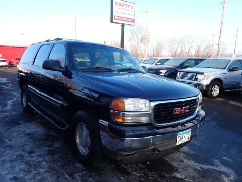 2005 GMC Yukon XL for sale at Marty's Auto Sales in Savage MN
