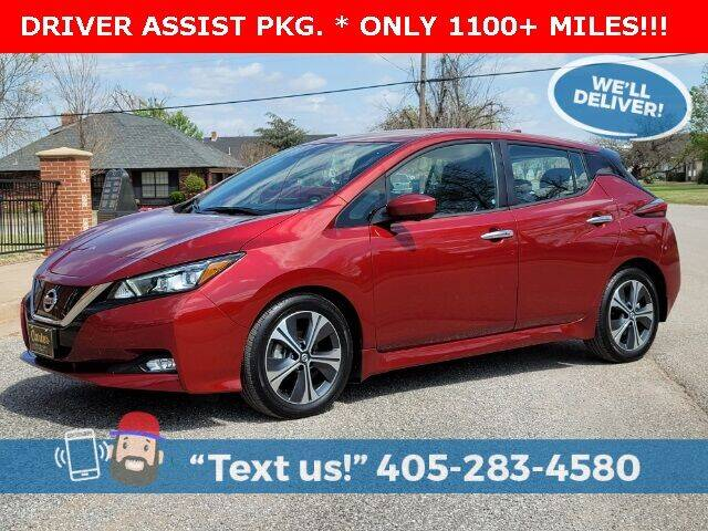 2020 Nissan LEAF for sale in Okarche, OK