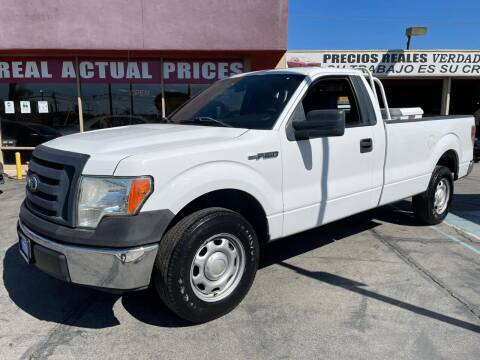 2011 Ford F-150 for sale at Sanmiguel Motors in South Gate CA