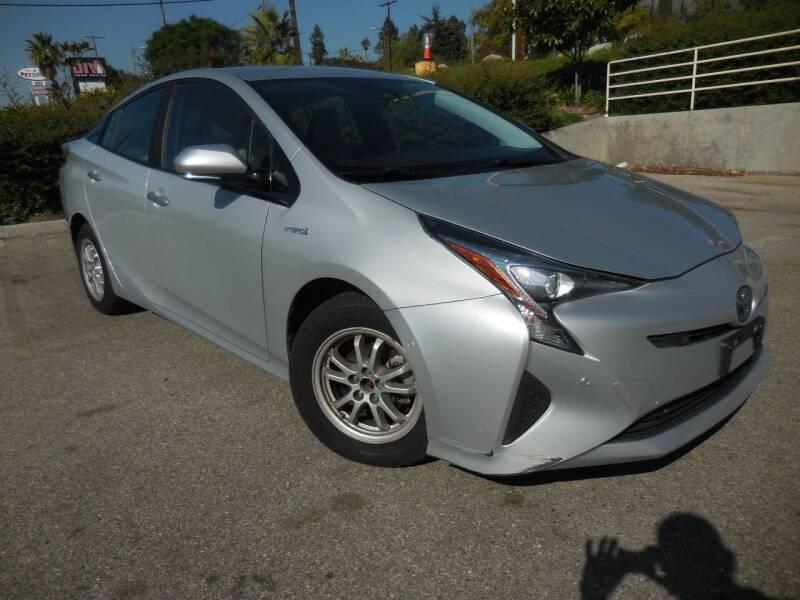 2017 Toyota Prius for sale at ARAX AUTO SALES in Tujunga CA