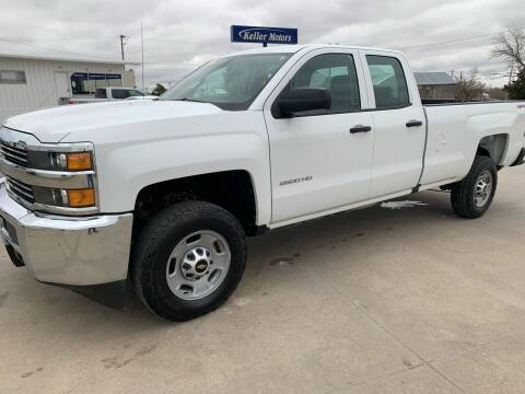 2017 Chevrolet Silverado 2500HD for sale at Keller Motors in Palco KS