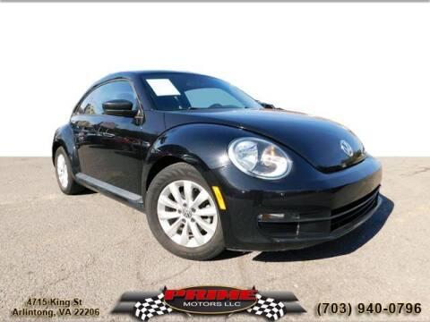 2014 Volkswagen Beetle for sale at PRIME MOTORS LLC in Arlington VA