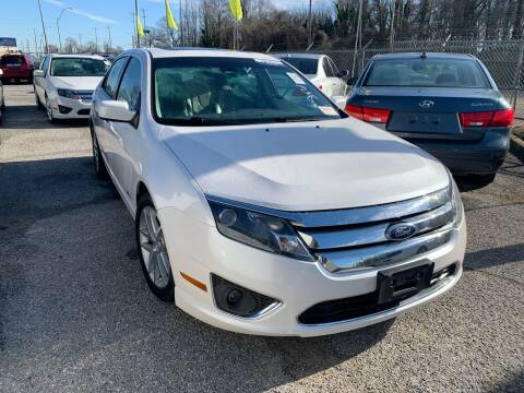 2012 Ford Fusion Hybrid for sale at Super Wheels-N-Deals in Memphis TN