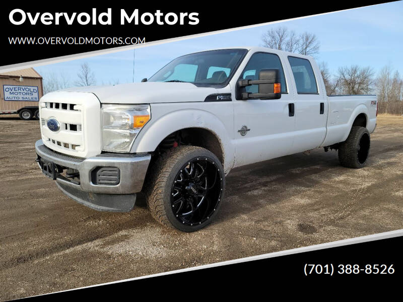 2014 Ford F-350 Super Duty for sale at Overvold Motors in Detroit Lakes MN