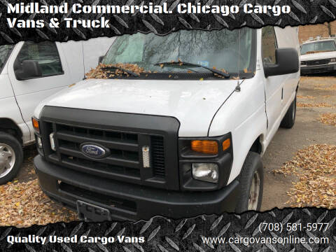 2009 Ford E-Series Cargo for sale at Midland Commercial. Chicago Cargo Vans & Truck in Bridgeview IL