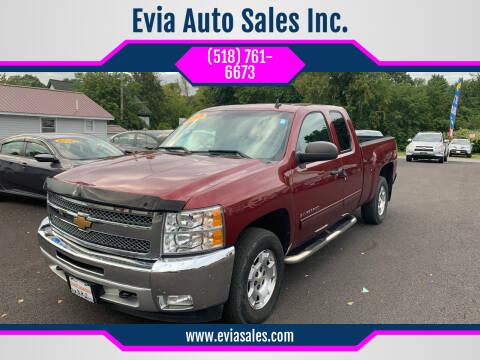 2013 Chevrolet Silverado 1500 for sale at Evia Auto Sales Inc. in Glens Falls NY