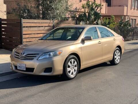 2010 Toyota Camry for sale at Good Vibes Auto Sales in North Hollywood CA