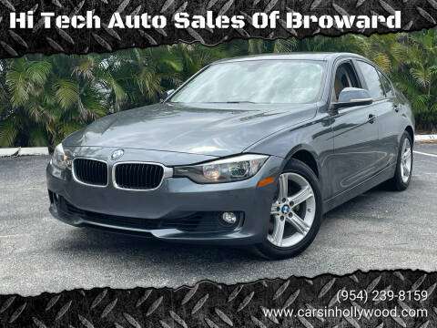 2015 BMW 3 Series for sale at Hi Tech Auto Sales Of Broward in Hollywood FL