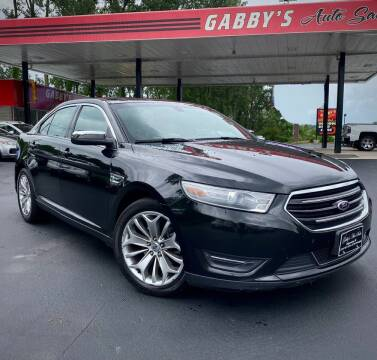 2013 Ford Taurus for sale at GABBY'S AUTO SALES in Valparaiso IN
