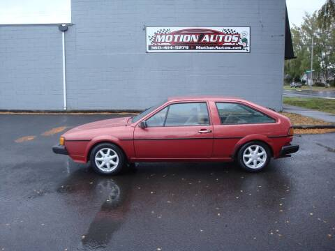 1982 Volkswagen Scirocco for sale at Motion Autos in Longview WA