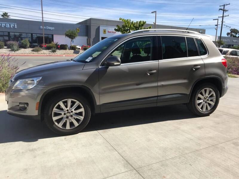 2009 Volkswagen Tiguan for sale at CALIFORNIA AUTO GROUP in San Diego CA