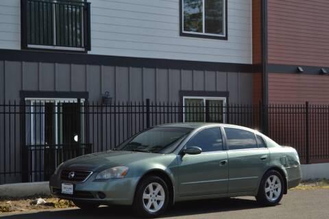 2002 Nissan Altima for sale at Skyline Motors Auto Sales in Tacoma WA