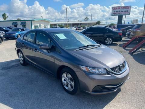 2014 Honda Civic for sale at Jamrock Auto Sales of Panama City in Panama City FL