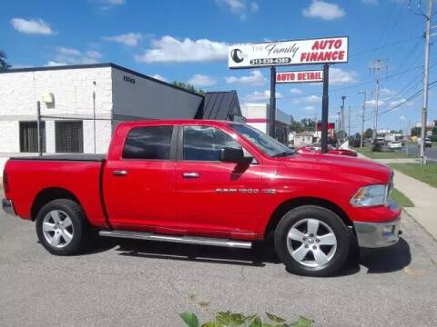 2011 RAM Ram Pickup 1500 for sale at The Family Auto Finance in Redford MI