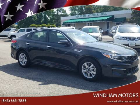2016 Kia Optima for sale at Windham Motors in Florence SC