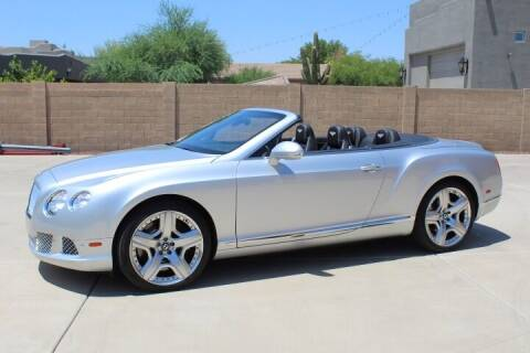 2013 Bentley Continental for sale at CLASSIC SPORTS & TRUCKS in Peoria AZ