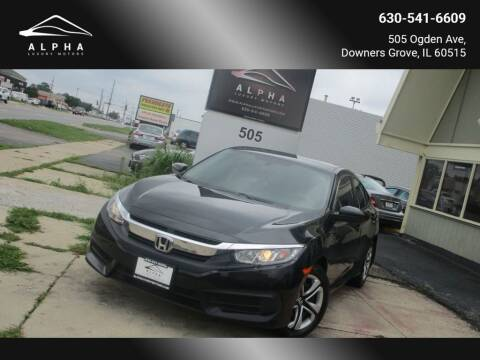 2018 Honda Civic for sale at Alpha Luxury Motors in Downers Grove IL