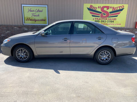 2006 Toyota Camry for sale at BIG 'S' AUTO & TRACTOR SALES in Blanchard OK