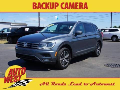 2018 Volkswagen Tiguan for sale at Autowest of Plainwell in Plainwell MI