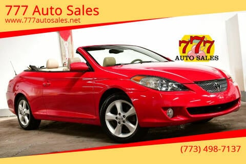 2005 Toyota Camry Solara for sale at 777 Auto Sales in Bedford Park IL