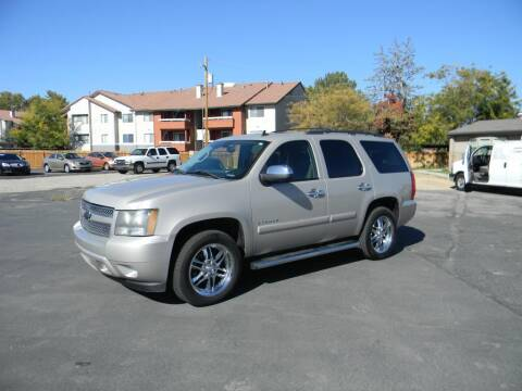 2007 Chevrolet Tahoe for sale at INVICTUS MOTOR COMPANY in West Valley City UT