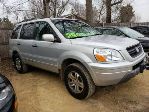 2003 Honda Pilot for sale at Northwoods Auto & Truck Sales in Machesney Park IL