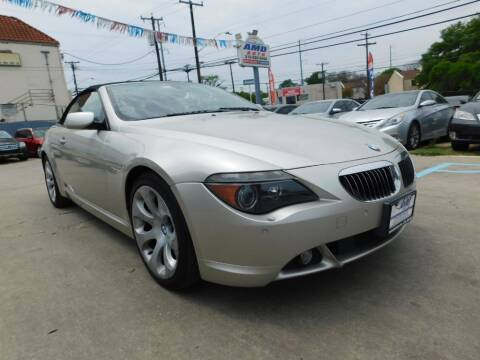 2005 BMW 6 Series for sale at AMD AUTO in San Antonio TX