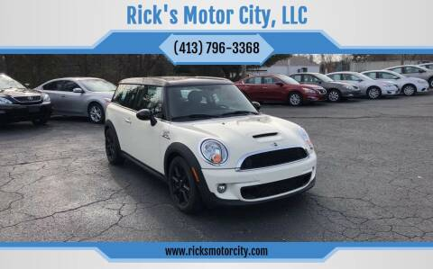 2014 MINI Clubman for sale at Rick's Motor City, LLC in Springfield MA