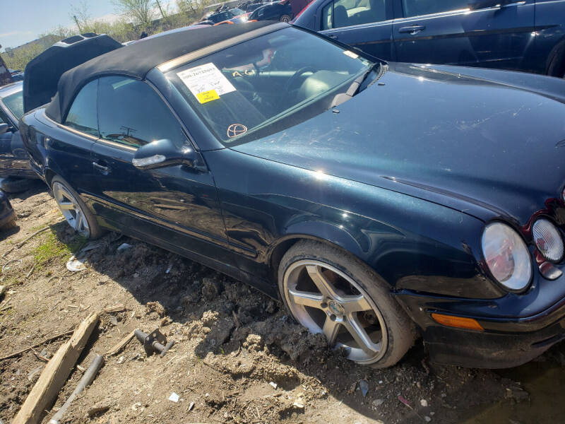2002 Mercedes-Benz clk 320 for sale at EHE Auto Sales Parts Cars in Marine City MI