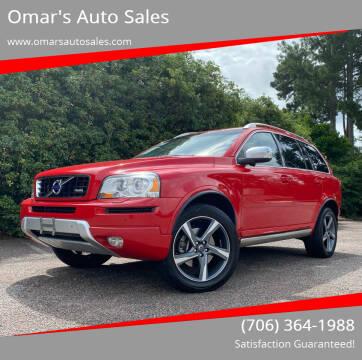 2013 Volvo XC90 for sale at Omar's Auto Sales in Martinez GA