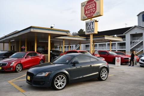 2010 Audi TT for sale at Houston Used Auto Sales in Houston TX