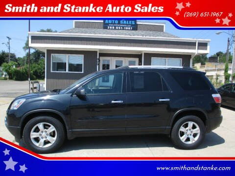 2012 GMC Acadia for sale at Smith and Stanke Auto Sales in Sturgis MI