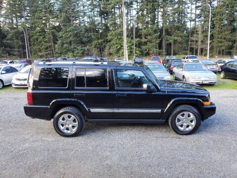 2006 Jeep Commander for sale at WILSON MOTORS in Spanaway WA