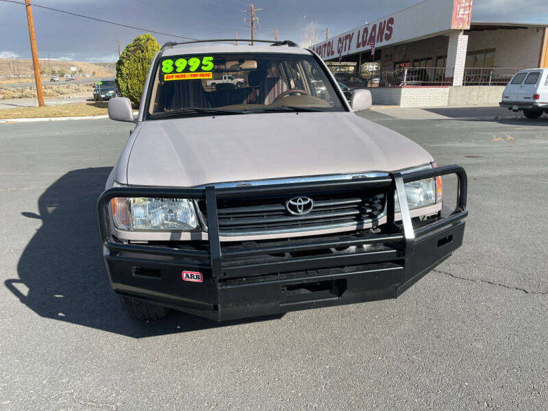 1998 Toyota Land Cruiser AWD 4dr SUV - Carson City NV