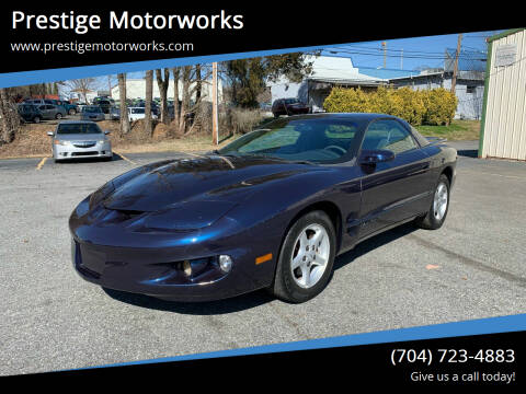 1999 Pontiac Firebird for sale at Prestige Motorworks in Concord NC