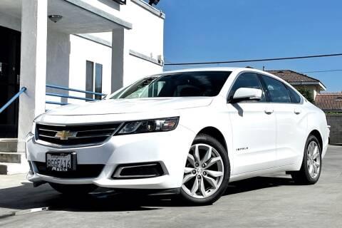 2017 Chevrolet Impala for sale at Fastrack Auto Inc in Rosemead CA