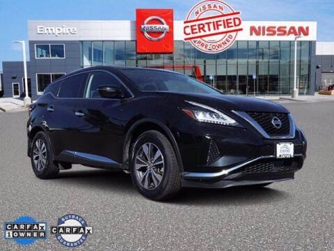2019 Nissan Murano for sale at EMPIRE LAKEWOOD NISSAN in Lakewood CO