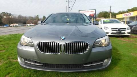 2011 BMW 5 Series for sale at Atlanta Fine Cars in Jonesboro GA