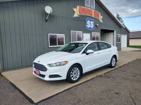 2015 Ford Fusion for sale at CARS ON SS in Rice Lake WI