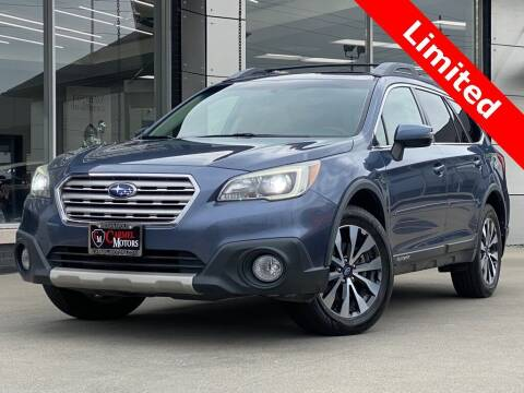 2015 Subaru Outback for sale at Carmel Motors in Indianapolis IN