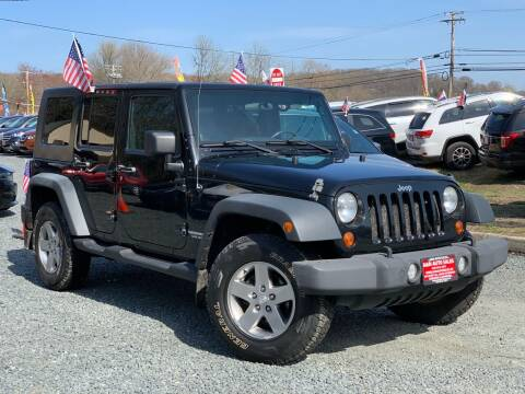2010 Jeep Wrangler Unlimited for sale at A&M Auto Sales in Edgewood MD